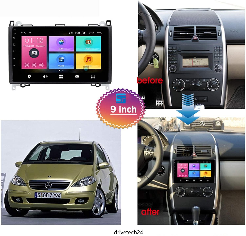 9 zoll Android 10.0 Autoradio GPS Navi Wifi für Mercedes-Benz  A und  B Klasse,  Sprinter, Vito Viano, VW Crafter