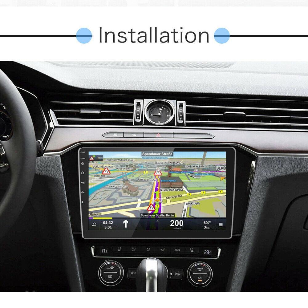 10 Zoll 2DIN Android 10 Universal Autoradio GPS Navigation Bluetooth USB WiFi