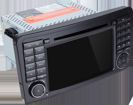 Autoradio GPS NAVIGATION für Mercedes Benz W164 GL320 ML350 X164 Android 10. DVD/CD Player