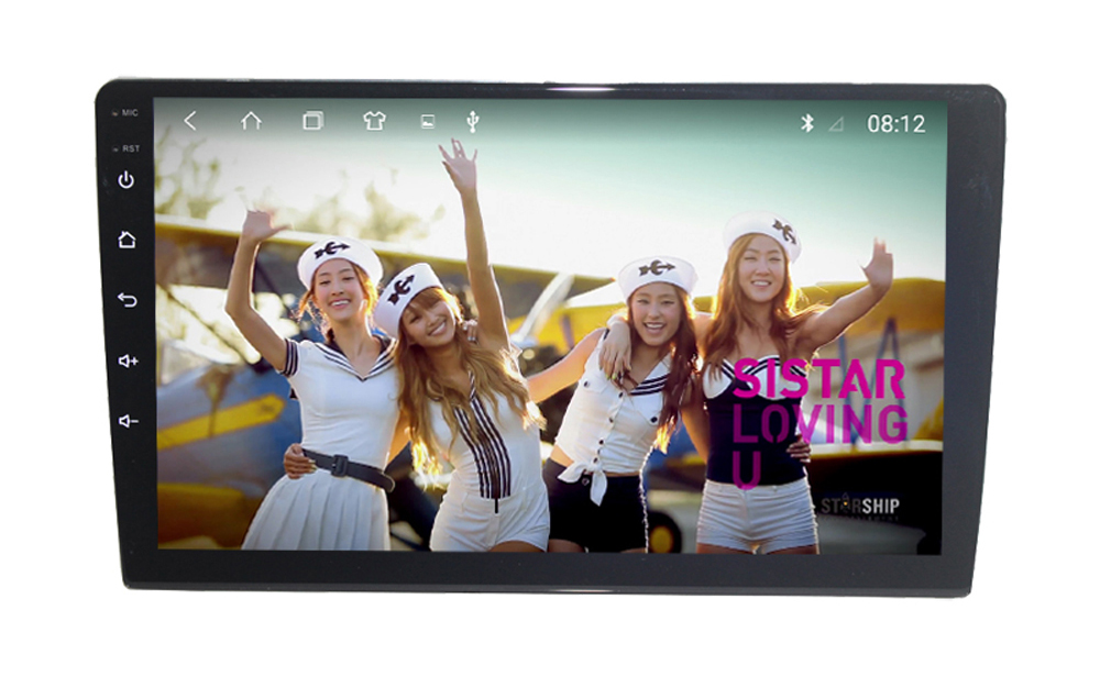 9 Zoll Android 10 Universal Autoradio 2 Din Stereo GPS Navigation 2G RAM + 32G ROM