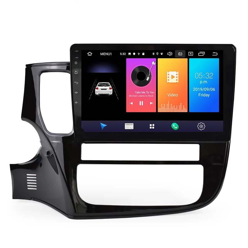 9 zoll Android 10 Autoradio GPS Navi für Mitsubishi Outlander 2012-2018 USB FM