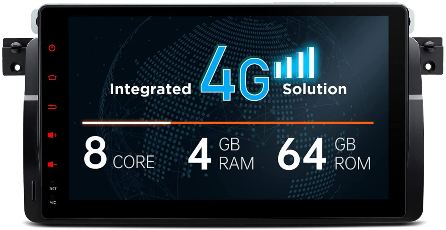 9 zoll Android 10 Autoradio GPS Navi für BMW 3er E46 M3 M3 Rover 75 MG ZT 4G RDS 4GB RAM 64GB ROM