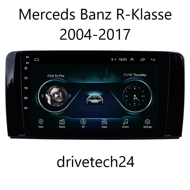 "9"" Android 10 Autoradio GPS NAVIGATION für Mercedes Benz R-Class 4GB 64GB ROM"