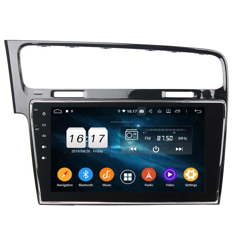 "10"" Android 10 Autoradio GPS Navi Wifi Bluetooth MP5 für VW Golf 7 2013-2017"