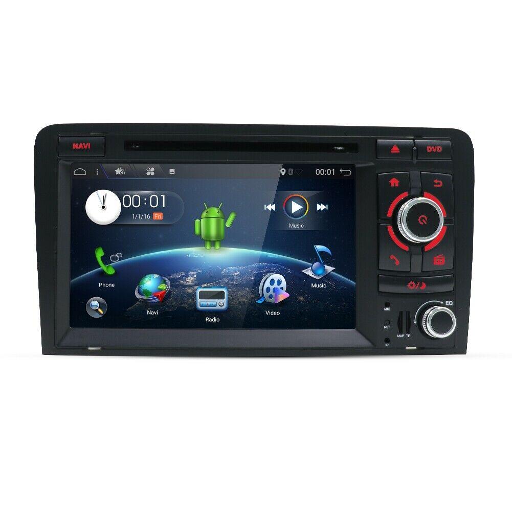 Audi A3 8P S3 RS3  Android 10 USB/DVD Autoradio GPS NAVIGATION 2GB RAM; 16GB ROM