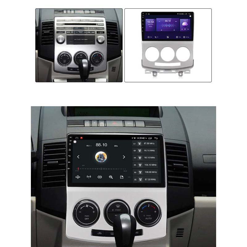 "Mazda 5 Android 10 Autoradio 9"" Touchscreen BT GPS Navi Carplay RDS DSP 64GB 4GB  2005-2013"