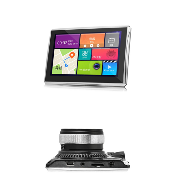 7 zoll  GPS  Android Navigationsgerät Navi für LKW PKW BUS WOMO  und  DVR Kamera WIFI  Tablet-PC