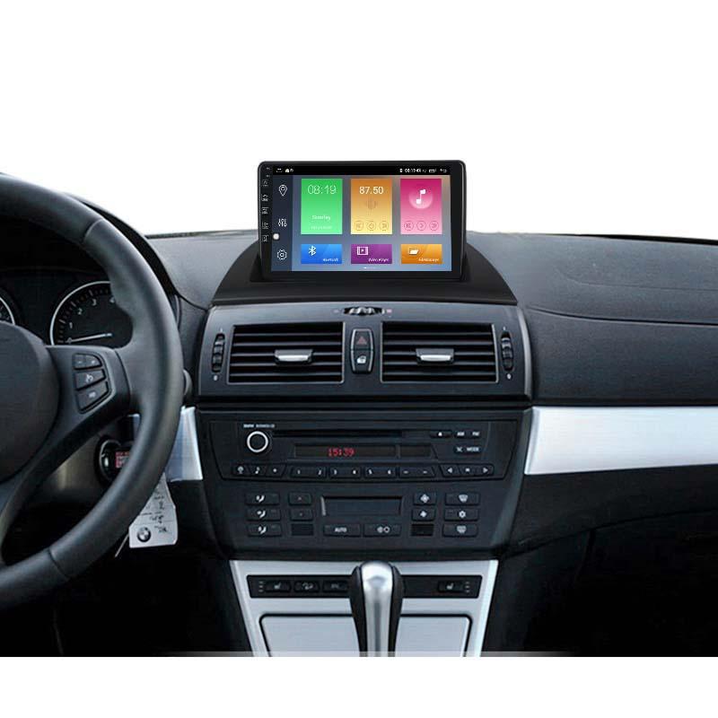 9 zoll Android 10 Autoradio GPS Navi für BMW X3 E83 4G RDS 64GB ROM Bluetooth FM