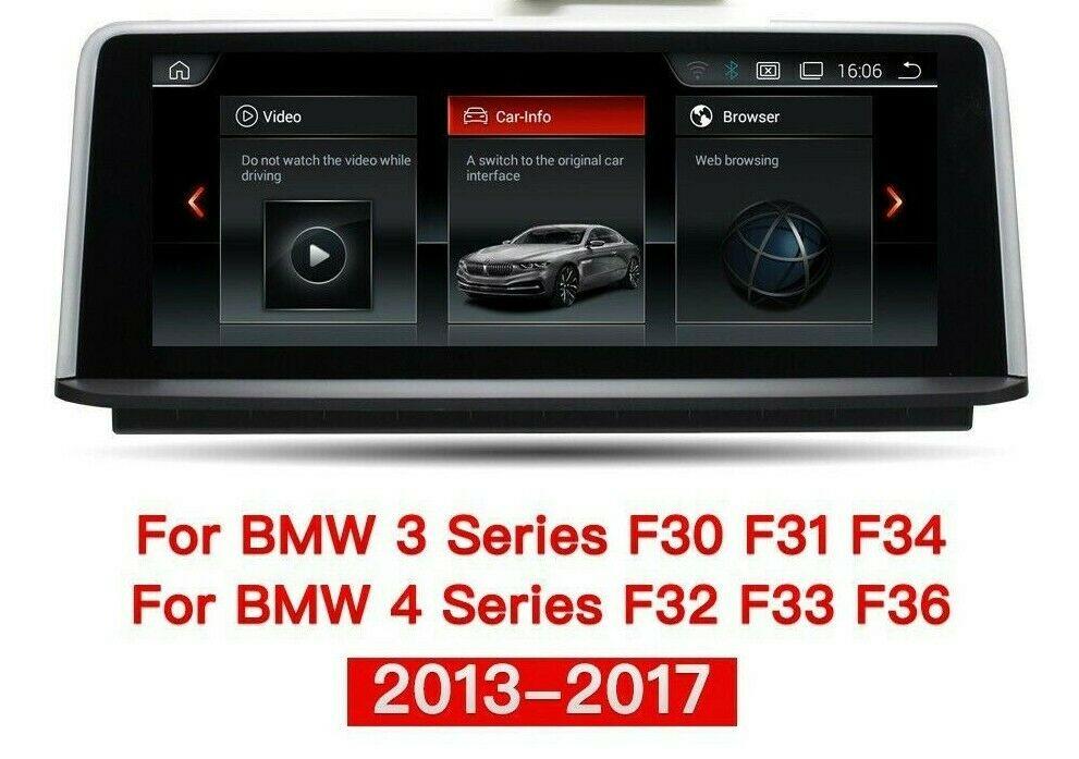 """10.2"""" Touchscreen Android GPS Navi Carplay für BMW F30 F31 F32 F33 F80 F82 NBT"""
