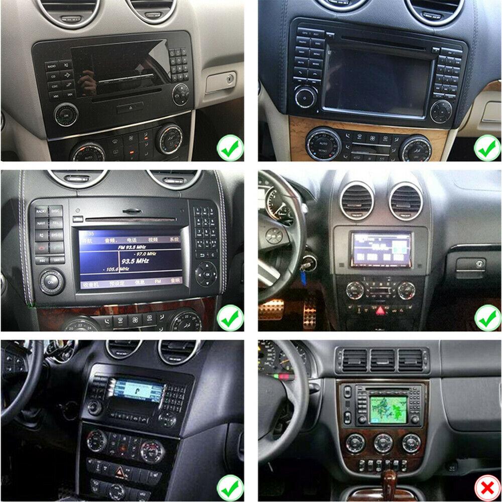 9 zoll Android 10.0 Autoradio GPS NAVIGATION für Mercedes Benz W164 GL320 ML350 X164 4GB  RAM 64GB ROM