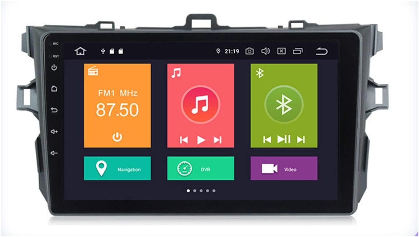 "Toyota Corolla Android 10 Autoradio 9"" Touchscreen Bluetooth GPS 3D Navigation  4Bit Octa Core CPU  4GB RAM; 64GB ROM"