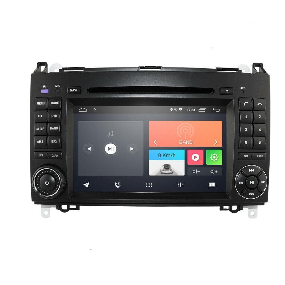 Android10 Autoradio GPS Navi DVD Für Mercedes Benz A / B Klasse W169  Viano  Sprinter, Vito, Viano, VW Crafter  USB RDS