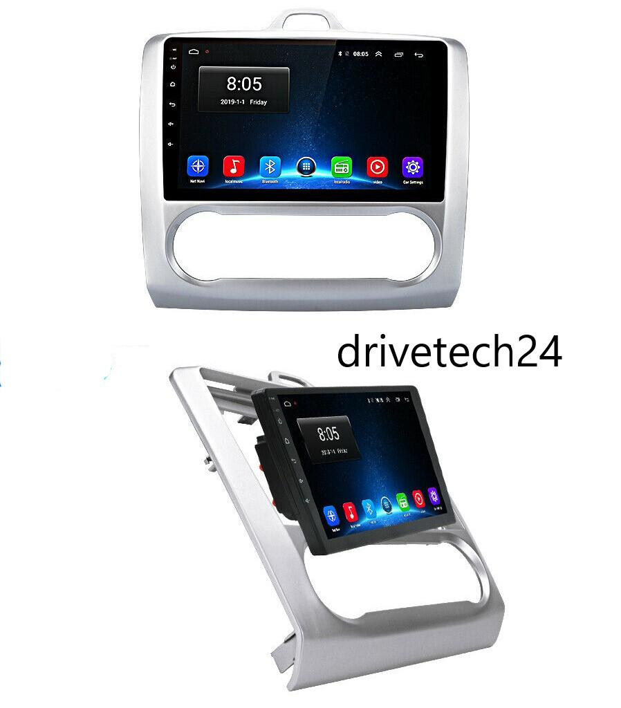 9 zoll   Android 10 Autoradio GPS Navigation Für Ford Focus 2 MK2 MK3 Exi AT  2004-2011 Model