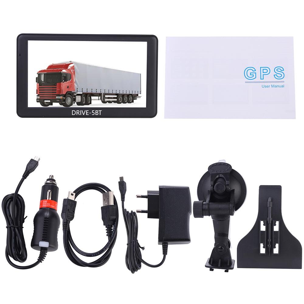 5  Zoll Navigationssystem GPS DRIVE-5BT Für LKW, PKW,  WOMO. INKL Drahtlose Rückfahrkamera