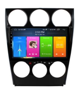 "9"" Touchscreen Android Autoradio Navigation GPS CarPlay für Mazda 6 2004-2015 FM"