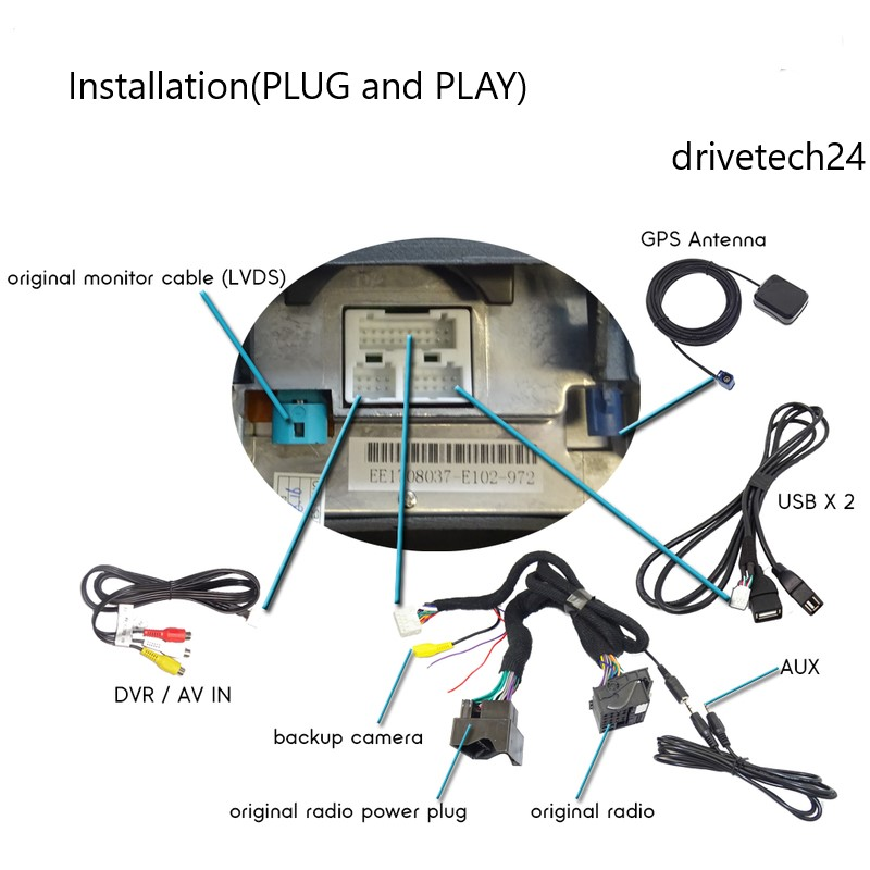 10.2 Zoll Android 10 GPS Navigation Carplay für BMW X5 X6 E70 E71 CCC USB WiFi Radio 4GB RAM 64GB ROM