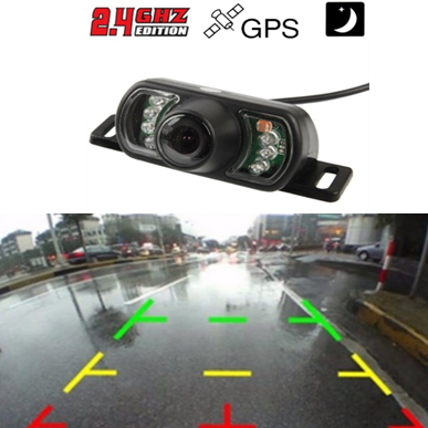 Drahtlos Rückfahrkamera,Nachtsicht,wasserdicht, 170 Grad  für Navigationssystem