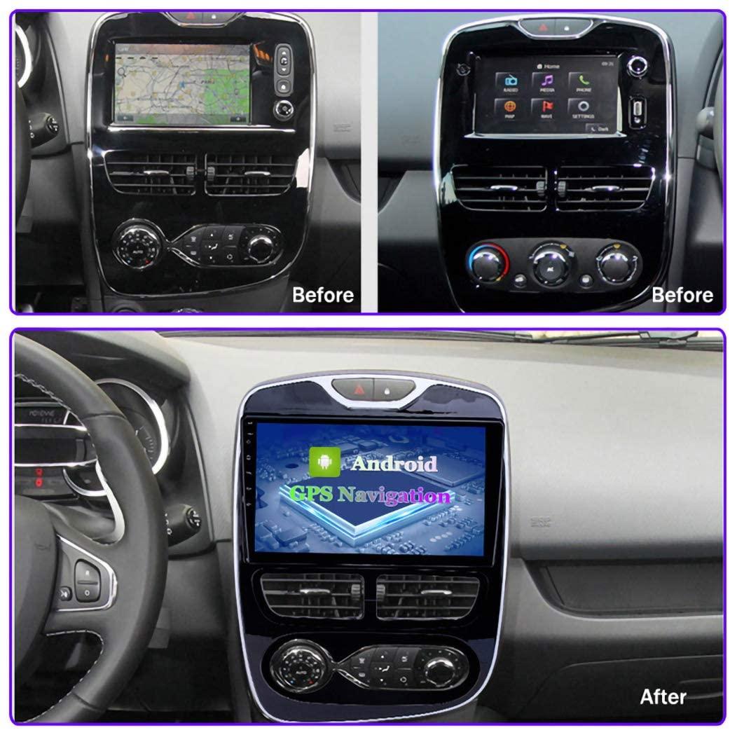 "10"" Android 10 Autoradio GPS Navi Wifi BT MP3 für  Renault Clio 2012-2016 FM USB"