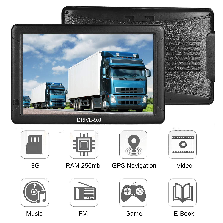 9 Zoll Navigationsgerät Drive-9.0  für LKW, PKW, BUS, WOHNMOBIL UND CAMPER