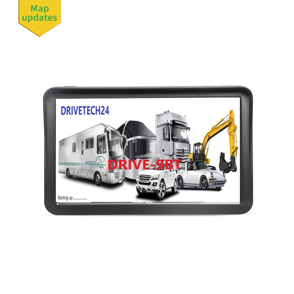 9  Zoll Navigationssystem GPS Navi  Für LKW, PKW,  WOMO. INKL Drahtlose Rückfahrkamera