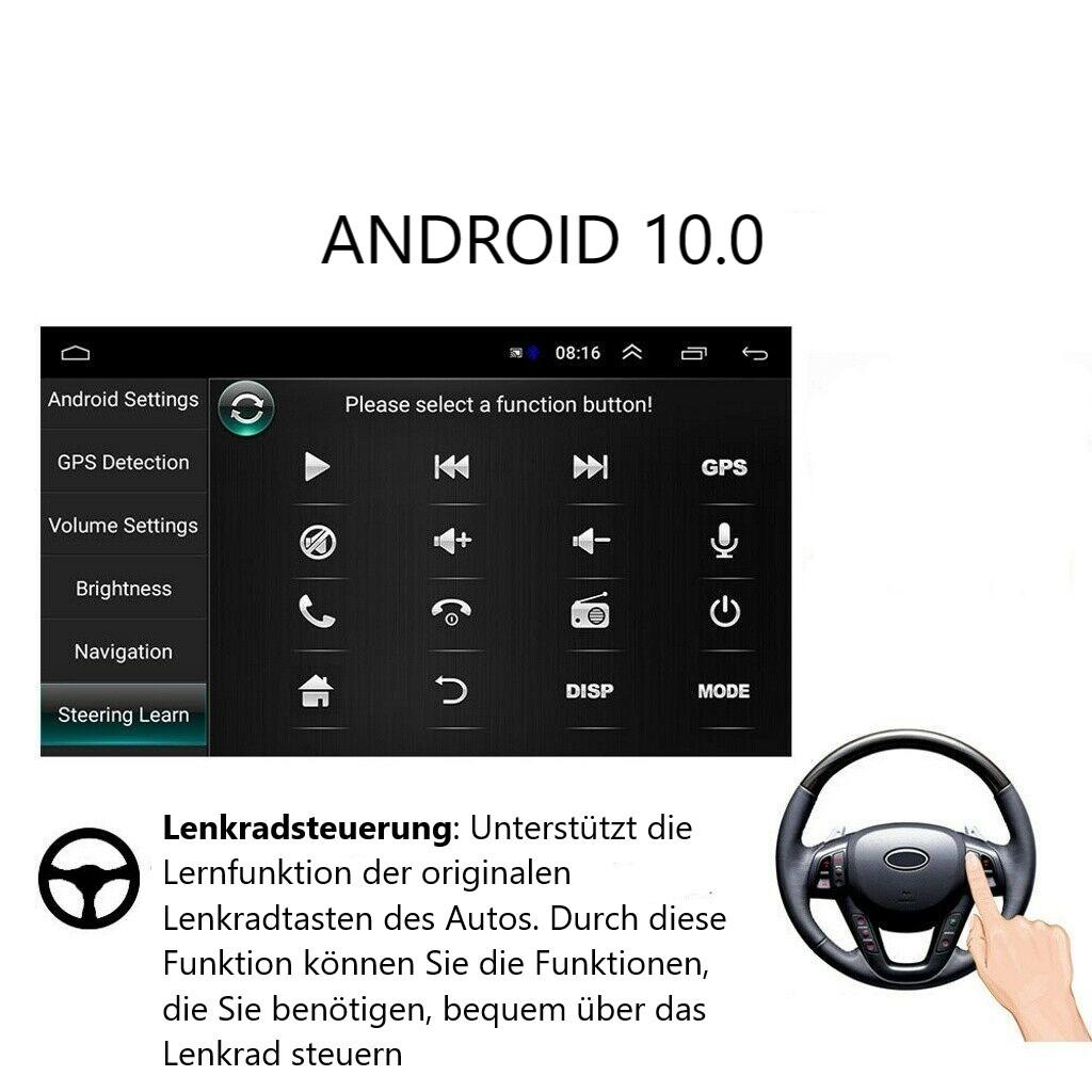 "7"" Autoradio GPS NAVIGATION Android 10  für Opel Corsa Antara Astra Vectra Antara Zafira Meriva vivara  Vivaro Combo Signum Tigra Twin"