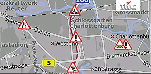 5 Zoll Navigationssystem GPS DRIVE-5BT mit TMC Verkehrsfunkempfänger LKW, PKW, WOMO, BUS