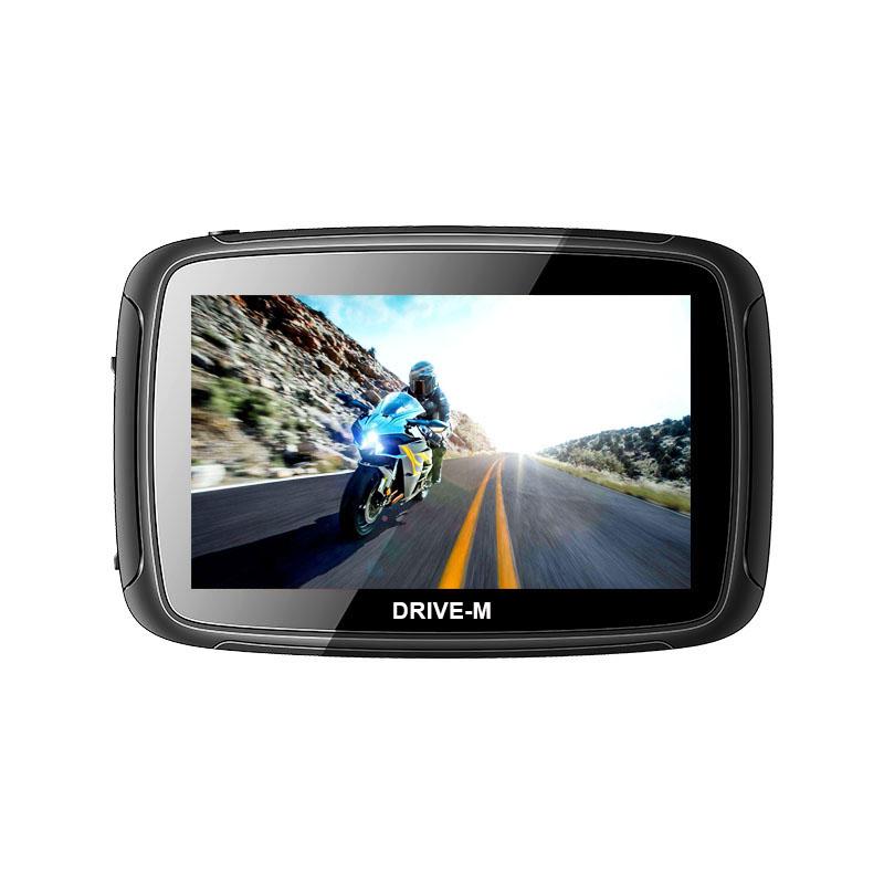 5 Zoll GPS Navigationsgerät Navi Drive-M Für Motorrad und PKW. wasserdichte.
